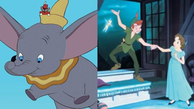 Dumbo y Peter Pan