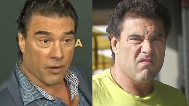 Eduardo Yáñez agredió a un reportero otra vez y lo empujó para pegarle