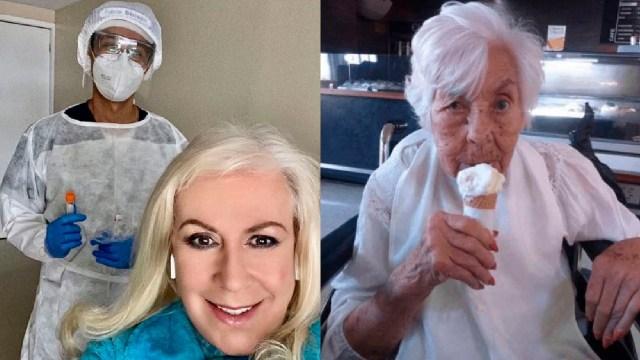 Enfermera de eva mange se defiende de Laura Zapata