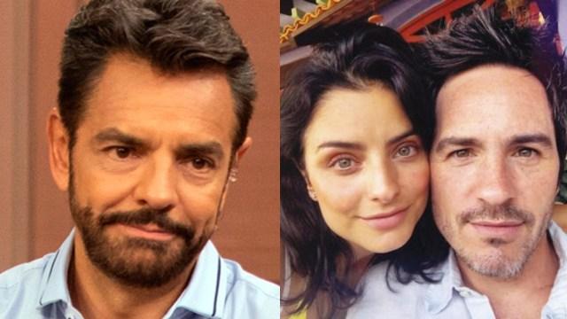Eugenio Derbez confirma que Aislinn y Mauricio Ochamann sí se divorciaron por su serie