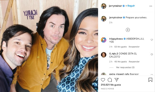 Foto reencuentro iCarly