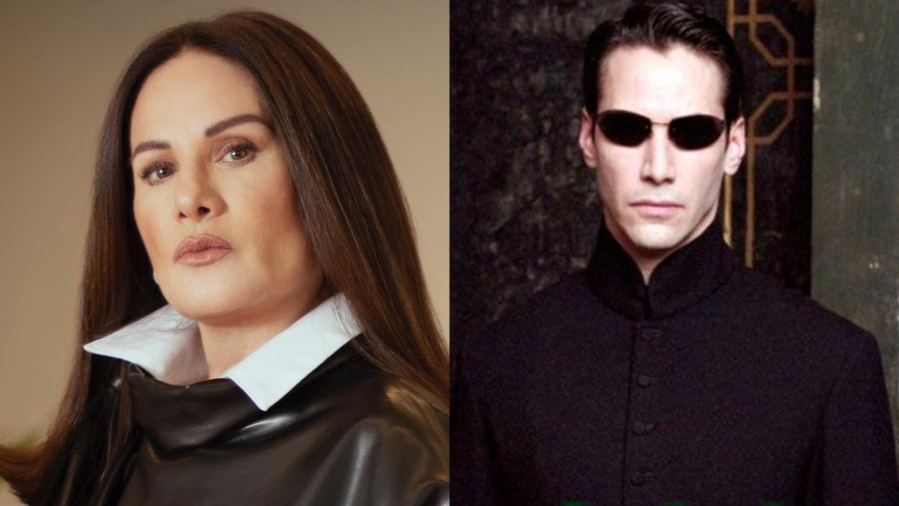 Gloria Calzada reaparece y aseguran que se parece a Matrix con su look