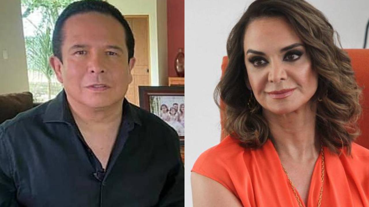 Lupita Jones y Gustavo Adolfo Infante son acusados de transfobia en vivo