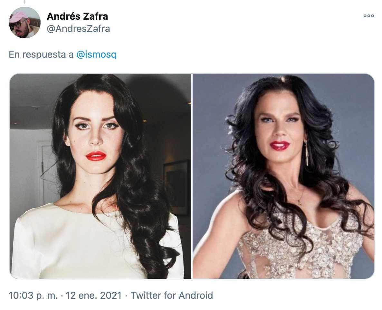 Comparan a Lana del Rey con Niurka