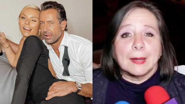 Así reaccionó la mamá de Geraldine Bazán al compromiso de Gabriel Soto e Irina Baeva