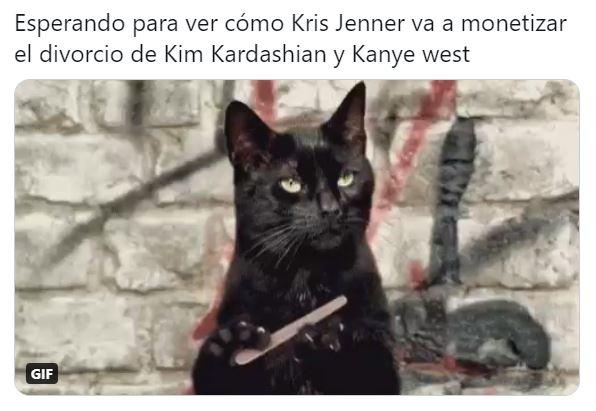 Reaccionan con memes al divorcio de Kanye West y Kim Kardashian
