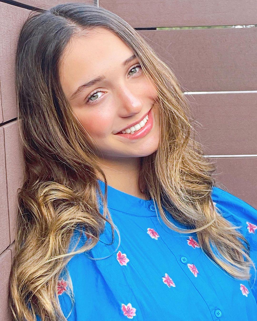 Andrea Legarreta entrevista a su hija Nina