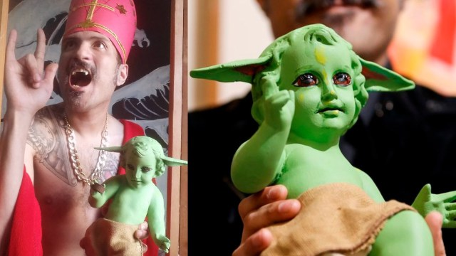 Yurex Corp, artista mexicano crea el Niño Dios Baby Yoda