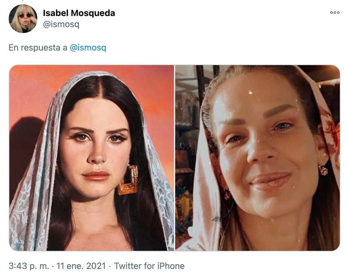 Lana del Rey usa looks de Niurka Marcos