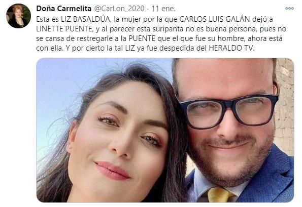 Tweet Doña carmelita