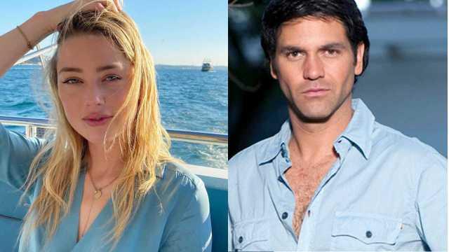 Así fue la relación de Amber Heard con el actor mexicano Valentino Lanús