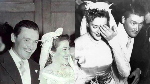 El vestido de novia de Silvia Pinal cuando se casó con Rafael Banquells