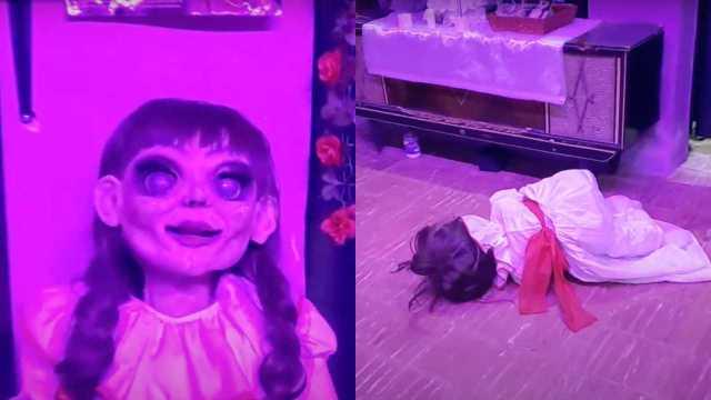 """Alertan por la """"Annabelle yucateca"""", una muñeca poseída que cae sola al piso"""