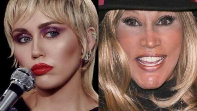 """Laura León """"La Tesorito"""" confirma que es idéntica a Miley Cyrus con foto"""