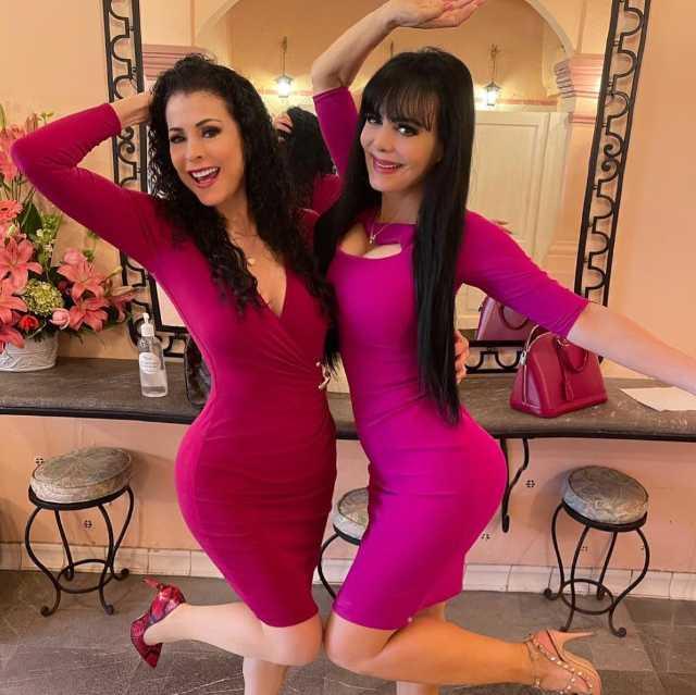 Lourdes Munguía y Maribel Guardia juntas