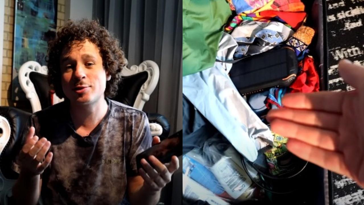Luisito Comunica y su maleta