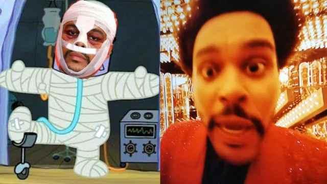 Los mejores memes del show de medio tiempo del Super Bowl LV con The Weeknd