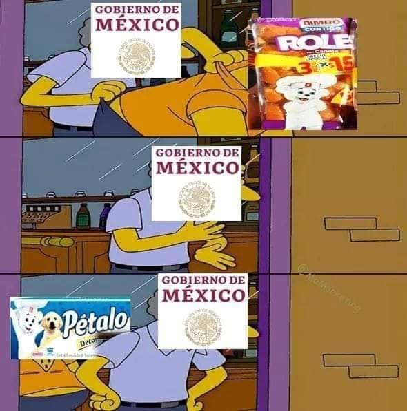 meme bimbo gobierno
