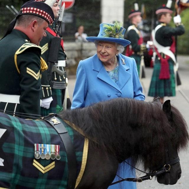 corona británica