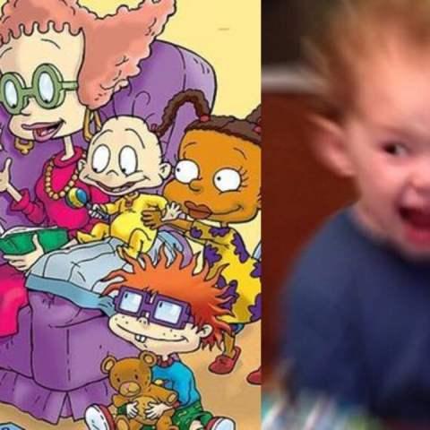 Rugrats regresa meme Gavin emocionado