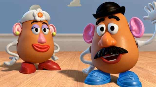 Señor y Señora Cara de Papa Toy Story