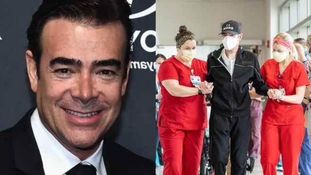 Toño Mauri salió del hospital y muestran fotos tras doble trasplante de pulmón