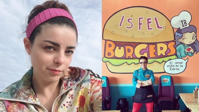 Violeta Isfel en Isfel Burgers
