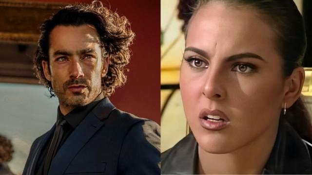 Aarón Díaz y Kate del Castillo