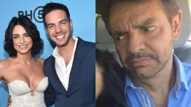 Aislinn Derbez y Vadhir hacen un llamado a Victoria Ruffo para cambiar de papá