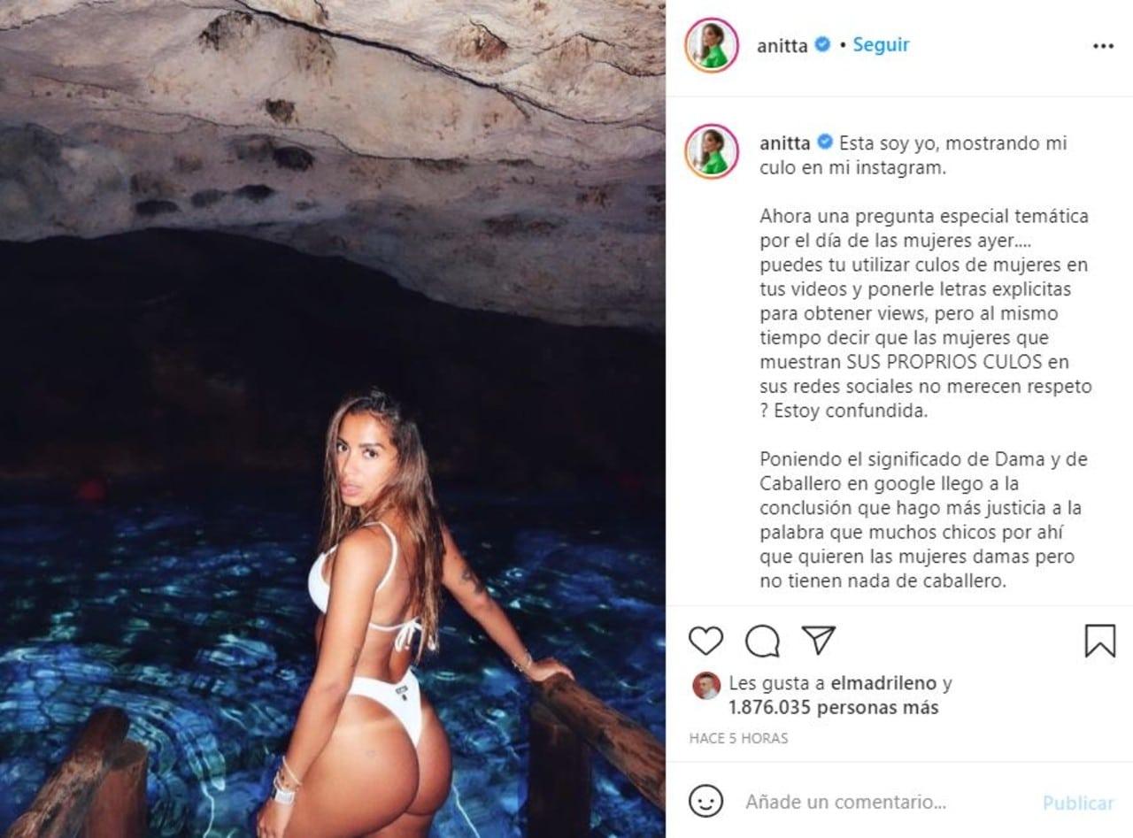 Anitta arremete contra Arcángel por sus comentarios misóginos