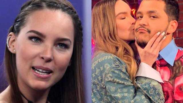 """Belinda vuelve a """"pintarse"""" por amor a Christian Nodal y muestra el resultado"""