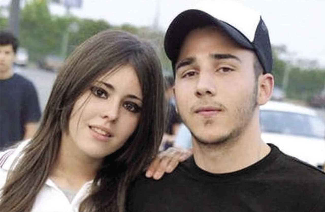 Diego Santoy con su ex novia Erika Peña Coss