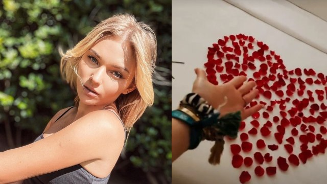 Irina Baeva pasa noche romántica sin gabriel