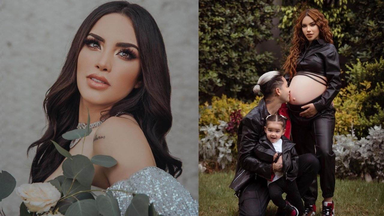 Kimberly Loaiza está embarazada por tercera vez