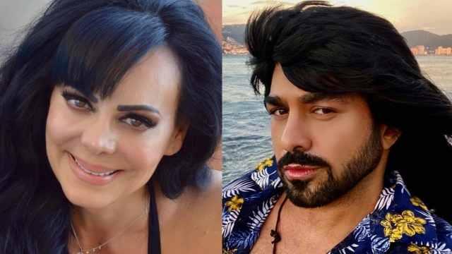 """Maribel Guardia reacciona a la foto de """"Albertano"""" en ropa interior"""
