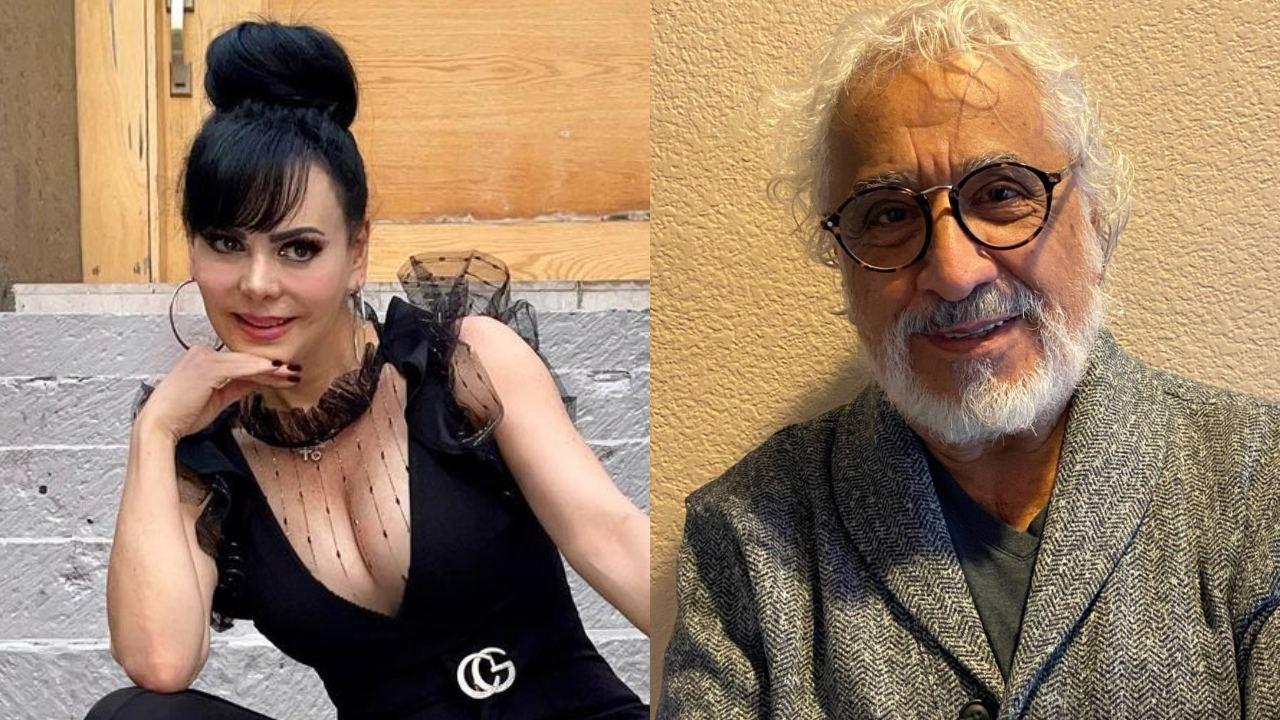 Maribel Guardia y Rafael Inclán juntos