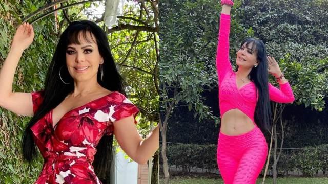 Maribel Guardia con diferentes looks