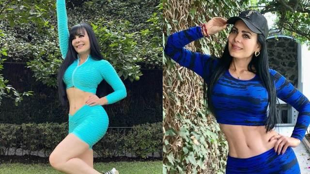 Maribel Guardia con looks deportivos