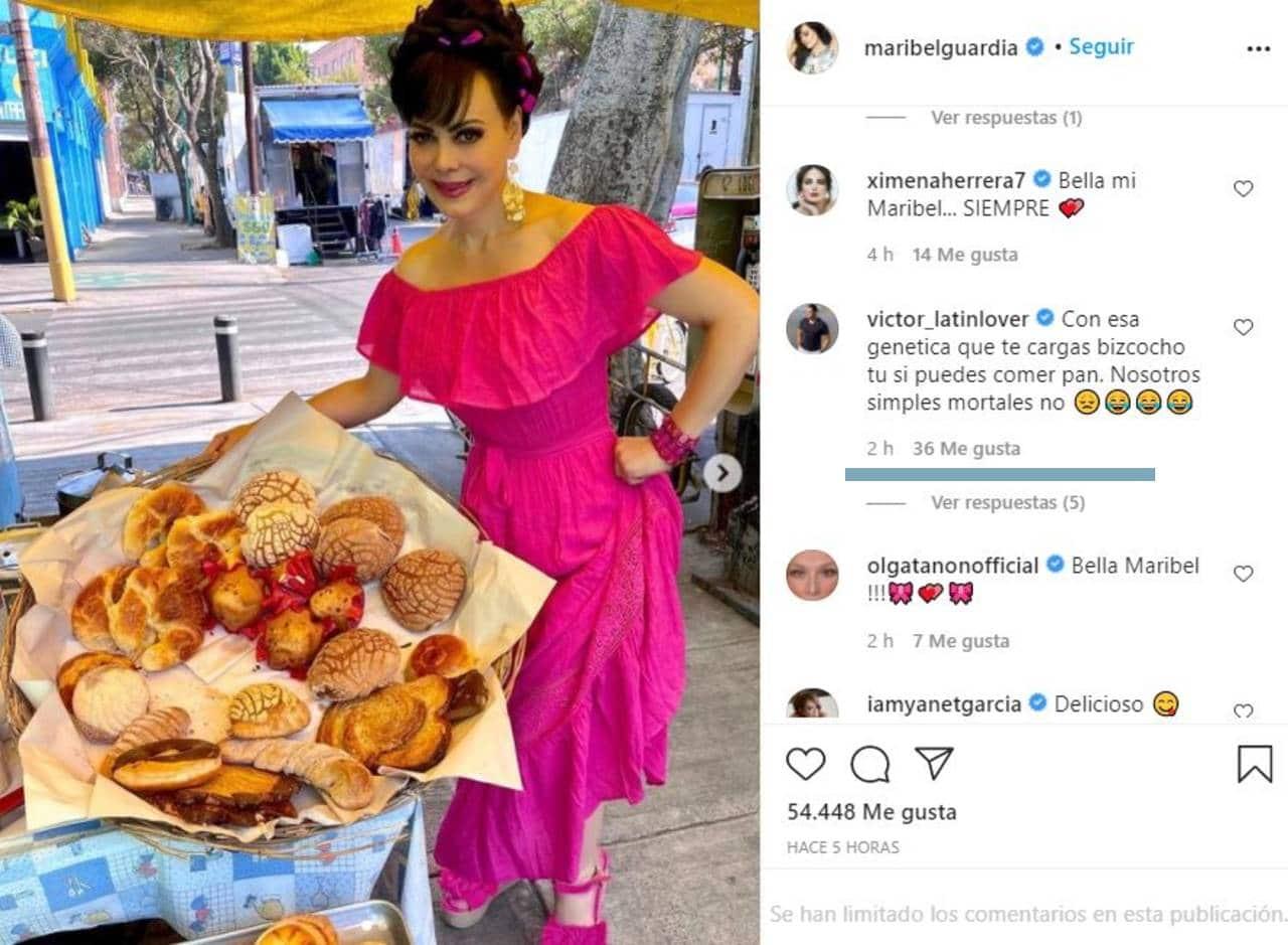 Maribel Guardia vende pan comentarios