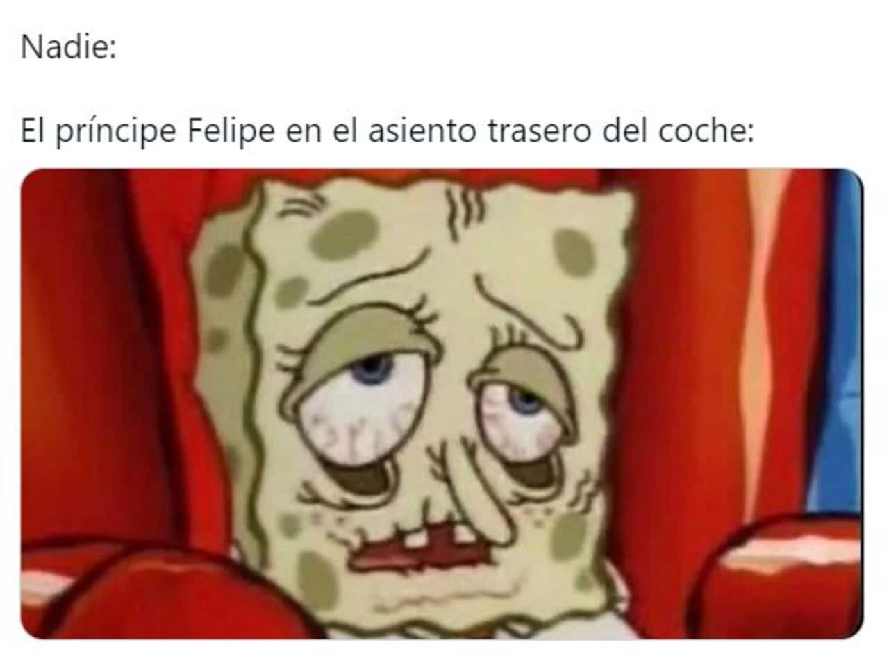 memes principe felipe hospital 99 años