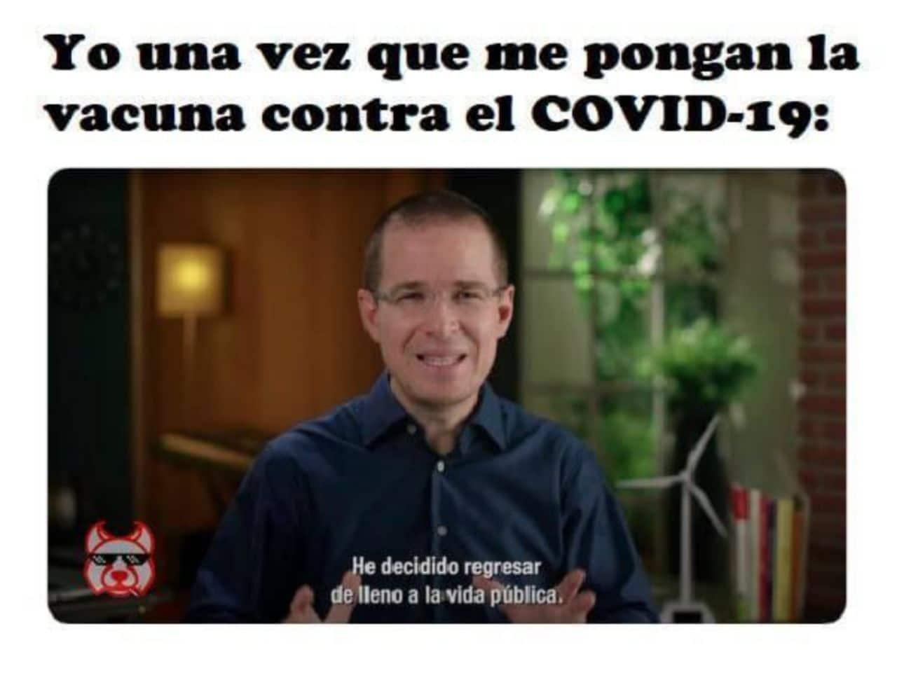 Ricardo Anaya y el COVID