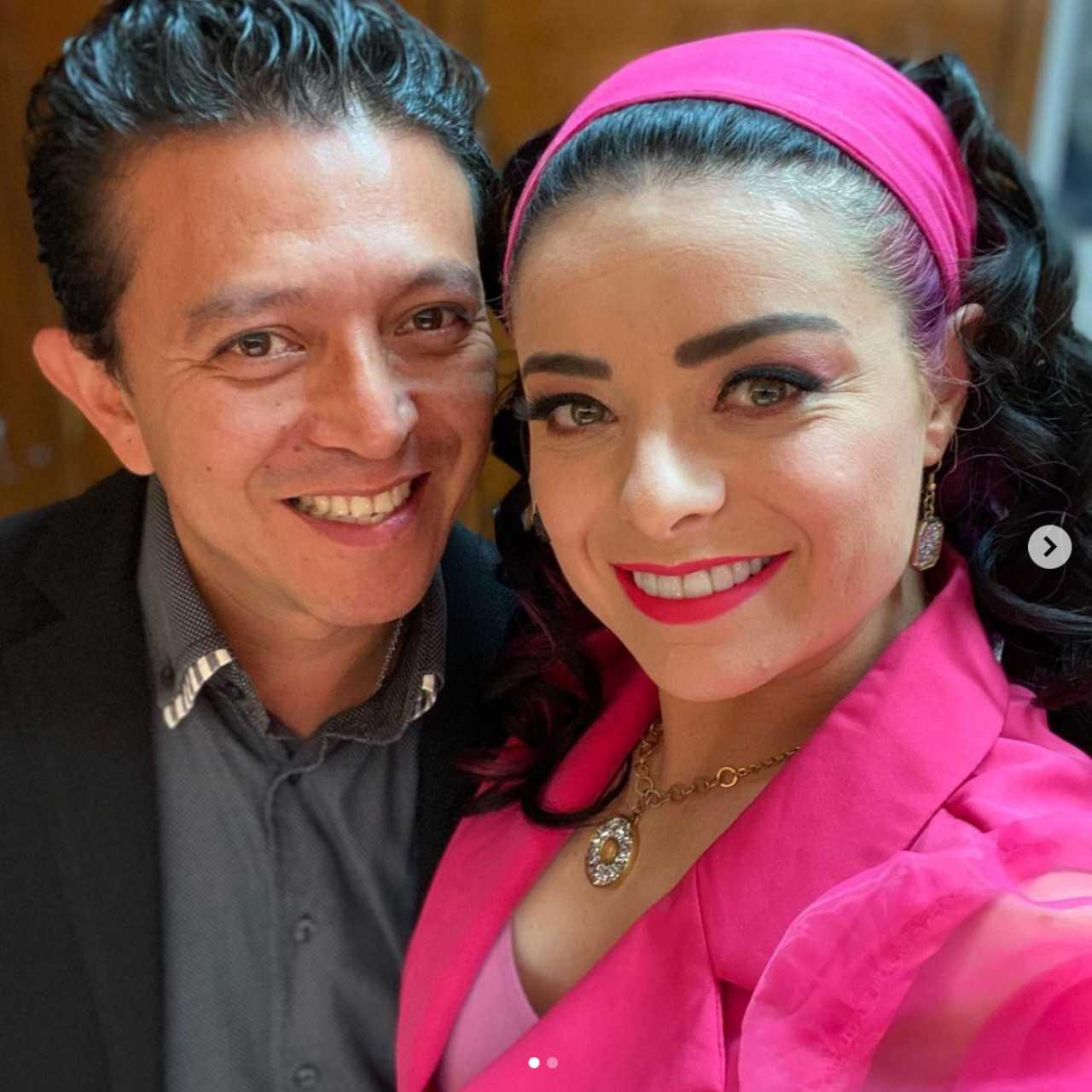 Violeta Isfel y su esposo Raúl Bernal