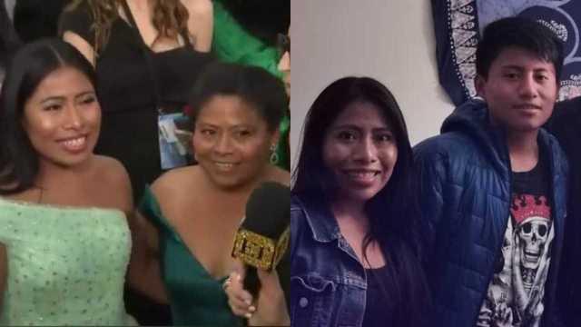 Ellos son los padres y hermanos de la actriz Yalitza Aparicio