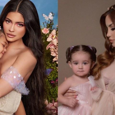 Kylie Jenner Stormi y Kimberly Loaiza Kima