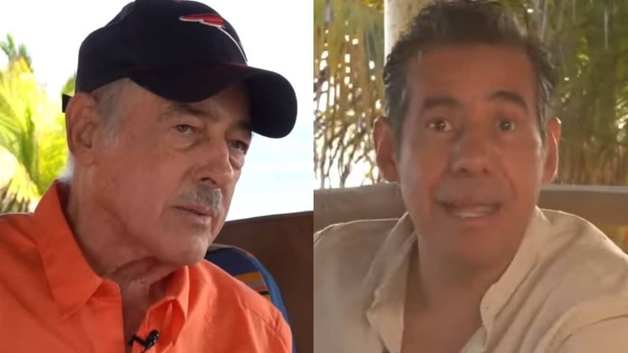 Andrés García sacó su pistola y disparó durante una entrevista con Yordi Rosado