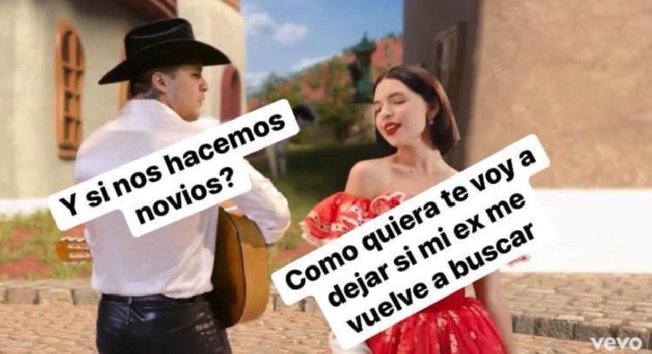 Ángela Aguilar arremete contra memes de canción con Christian Nodal