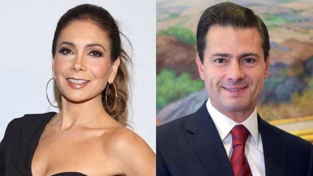 Amorío secreto entre Paty Manterola y Enrique Peña Nieto