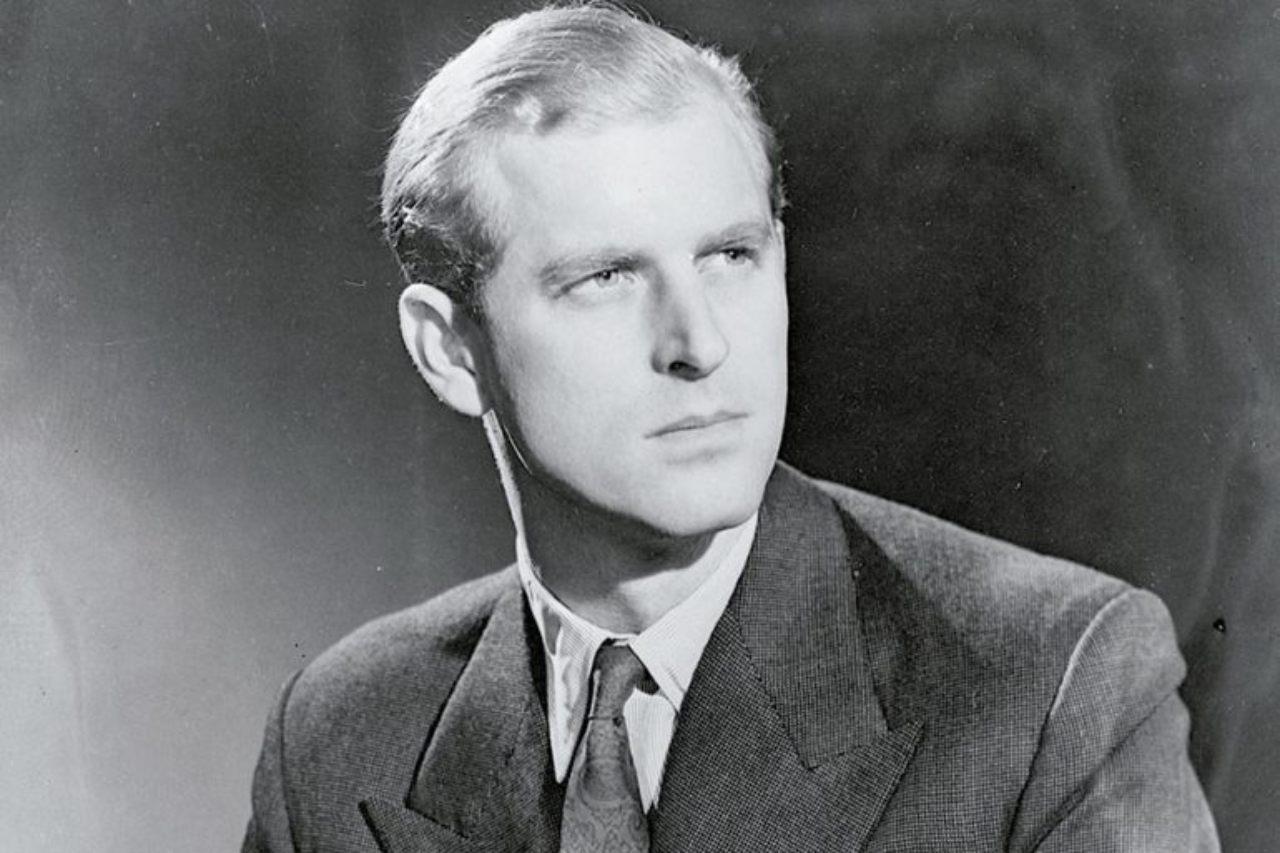 Felipe duque de edimburgo joven