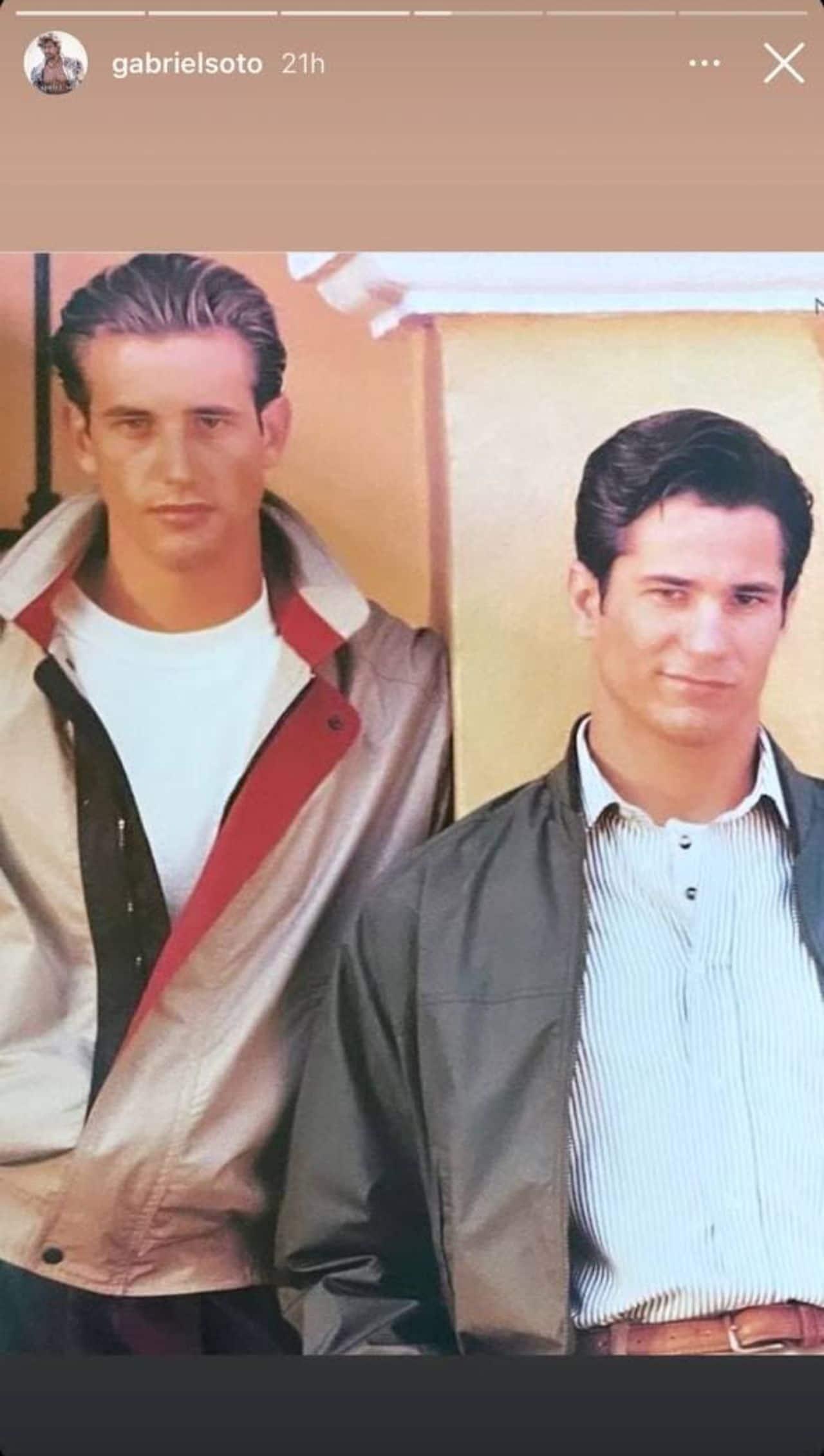 Gabriel Soto y Pedro Sicard lucían guapísimos de jóvenes