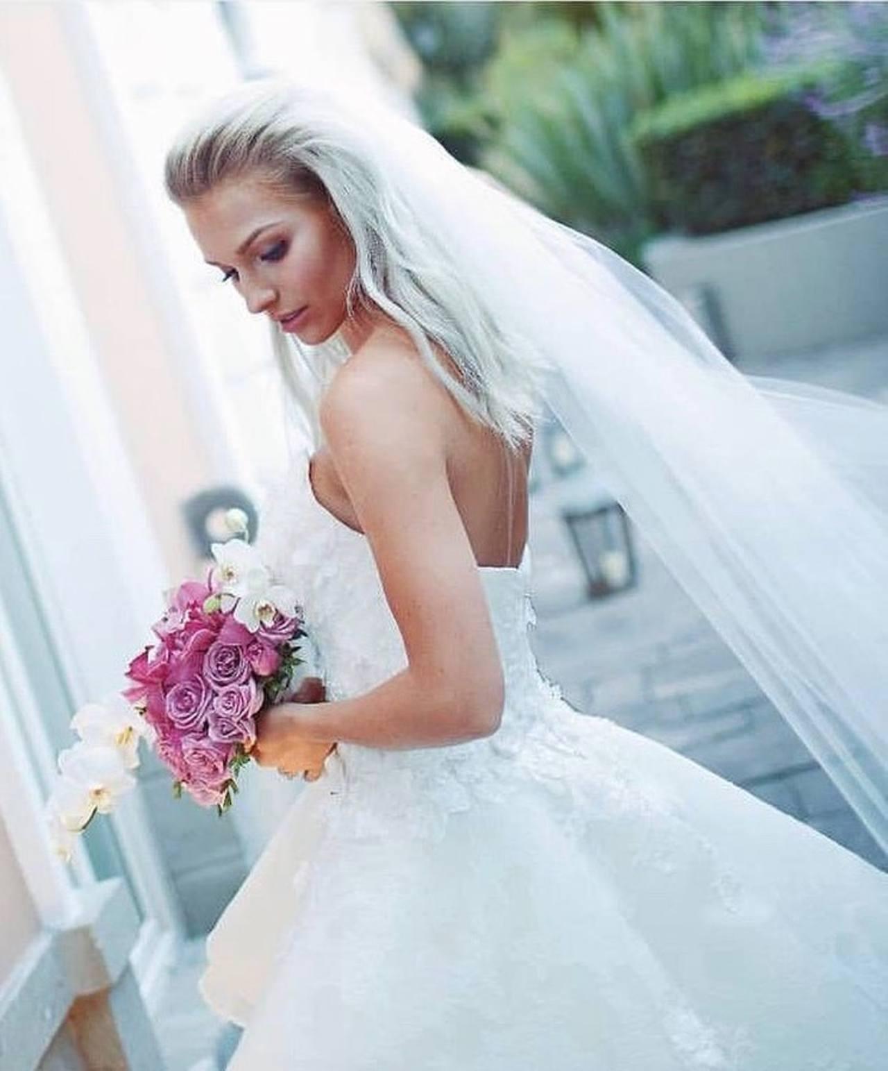 El vestido de novia de Irina Baeva